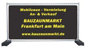Bauzaun Verleih & Mobilzaun Vermietung