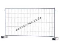 Mobilzaun MZ4, Haken & Ösen/M400