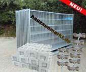 Bauzaunsets - Mobilzaun Komplett-Angebote