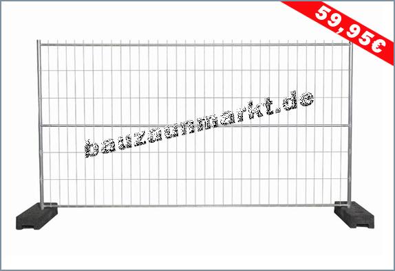 Bauzaun MZ7 - 3. Mittelstrebe