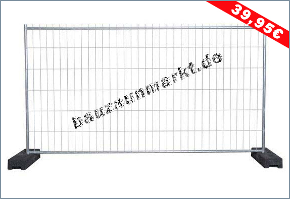 Bauzaun MZ1 - Standart