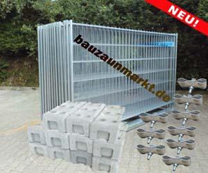 Bauzaun-Set/MZ1 - 35 Meter