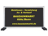 Bauzaun kaufen, Mobilzaun Verkauf Köln/Bonn