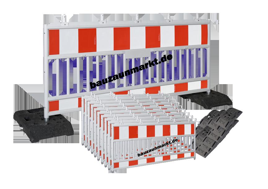 Verkauf & Vermietung von Verkehrssicherungen, Absperrgitter, TL Schrankenzaun, Absturzsicherungen