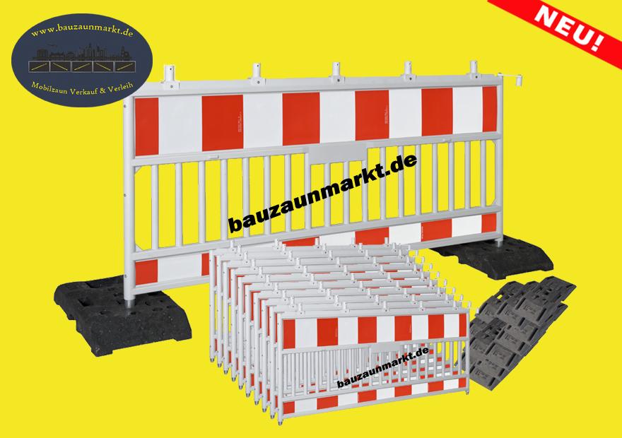 Absperrgitter & Schrankenzaun Komplettset-Angebote
