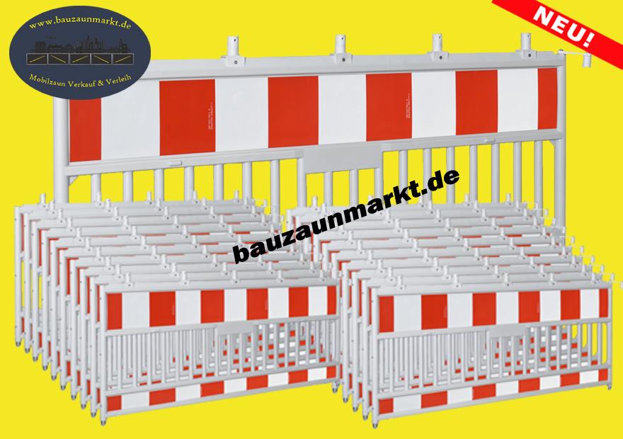 TL Schrankenzaun Set K20/42m