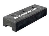 Bauzaun PVC-Kunststoff Füße