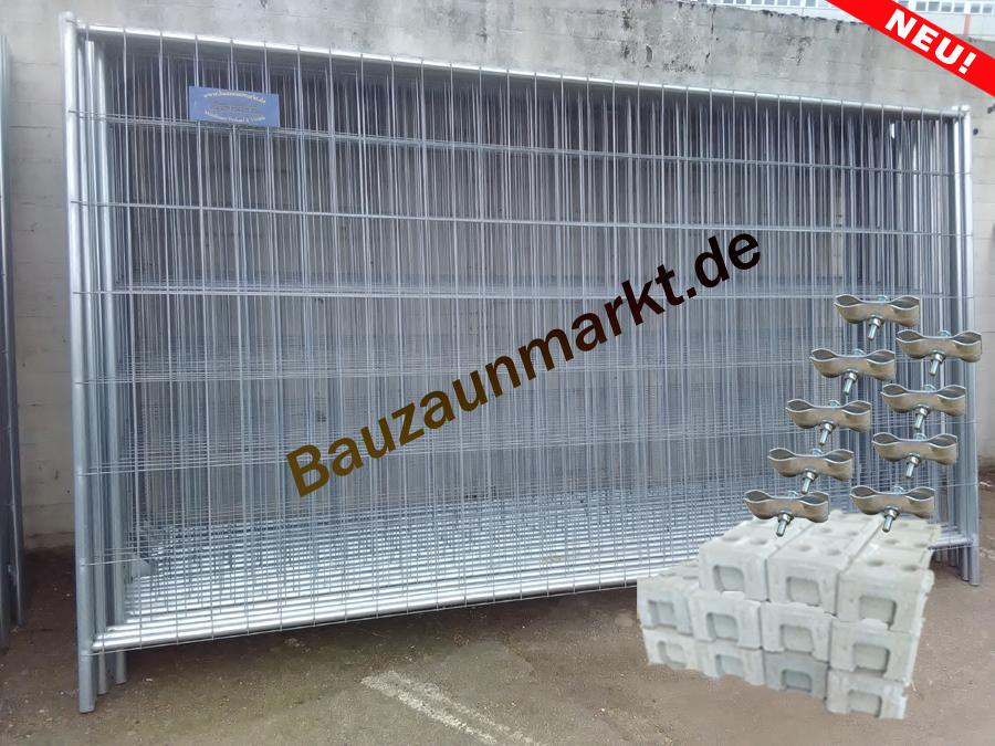 Bauzaun-Set/MZ2-Profi