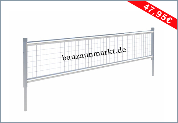 Bauzaun Erhöhungselement 60 cm