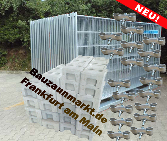 Bauzaunset/MZ1 - 70 Meter