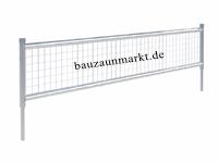 Mobilzaun/MZ9-60 cm Höhe zur Bauzaunerhöhung auf 2,60 m