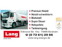 Josef Lang Mineralölvertrieb GmbH - Sinsheim